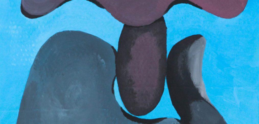 Nachdenkerpose in Steinform