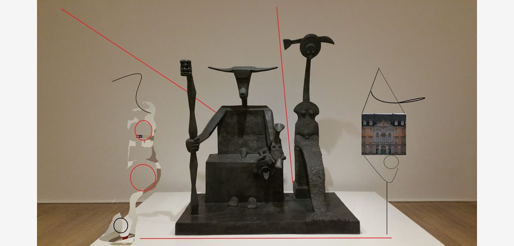 Bild zum Januar Blogbeitrag nach Max Ernst; Collage von Goce Andonoski