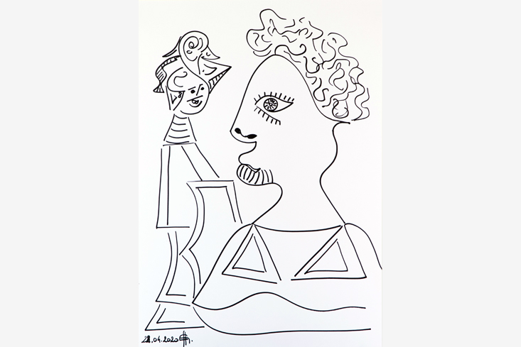 Zwei Figuren