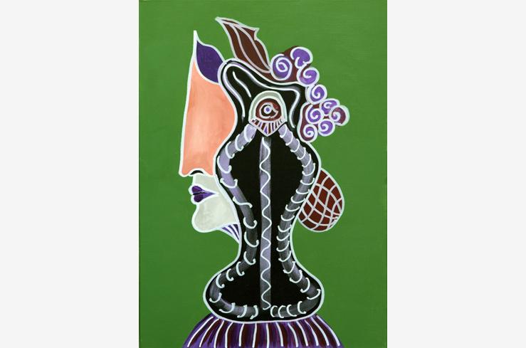 Die Vasenfrau